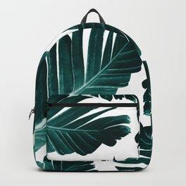 Tropical Banana Leaves Dream #1 #foliage #decor #art #society6 Backpack