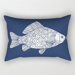 Crucian Carp Rectangular Pillow