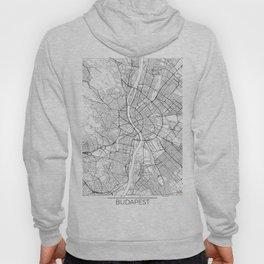 Budapest Map White Hoody