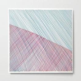Line Art 1 Metal Print