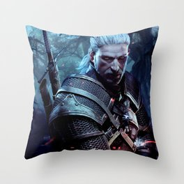 The Witcher 3 Throw Pillow