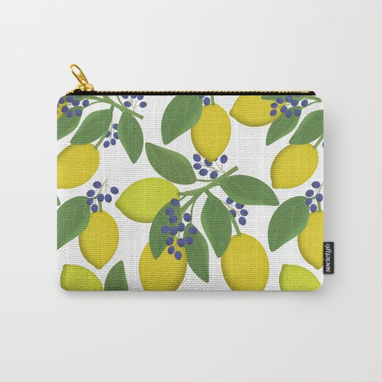 Sprigs of lemon . Carry-All Pouch