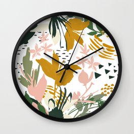 Abstract still life I Wall Clock