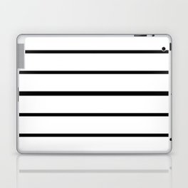 Simple Black and White Lines Decor Laptop & iPad Skin