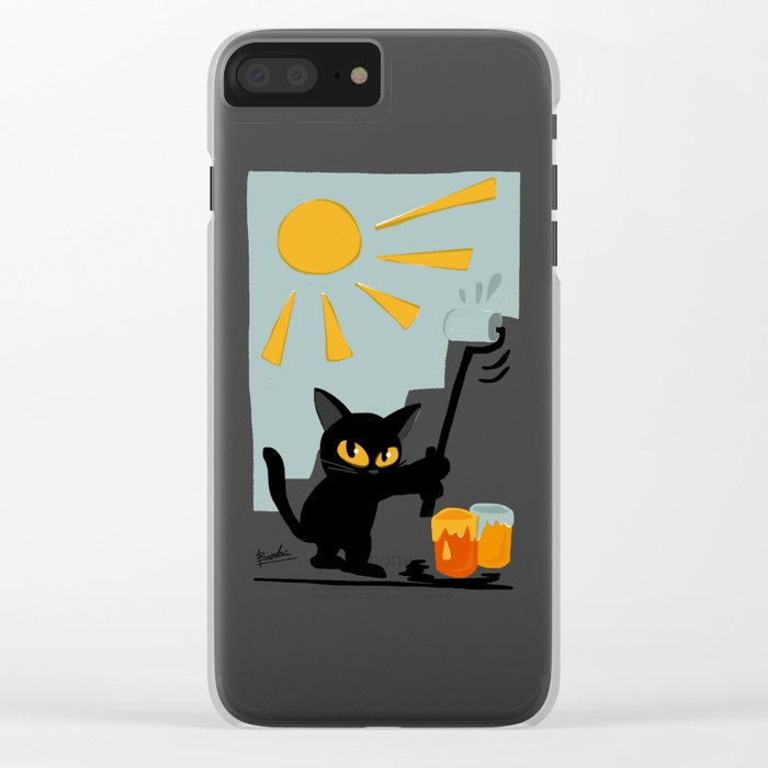 Fine day Clear iPhone Case
