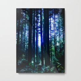 Blue June Metal Print