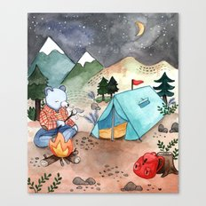 Greetings from Camp! Canvas Print