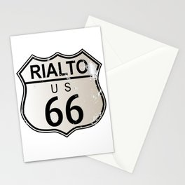 Rialto Route 66 Stationery Cards