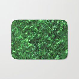 Abalone Shell | Paua Shell | Green Tint Bath Mat