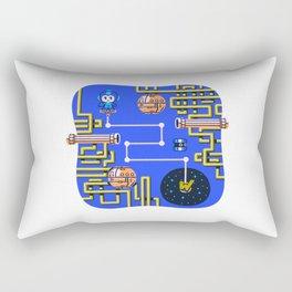 Overworld: Crash Rectangular Pillow