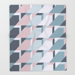 Nordic Winter #society6 #nordic #pattern Throw Blanket