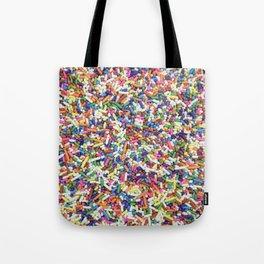 Rainbow Candy Dessert Sprinkles Tote Bag