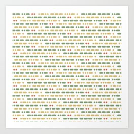 I Love You Morse Code II Art Print