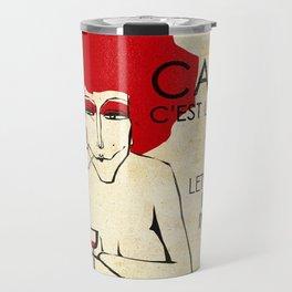Café c'est la vie - Paris Travel Mug
