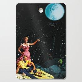 Luxurious Lunar Larking Cutting Board