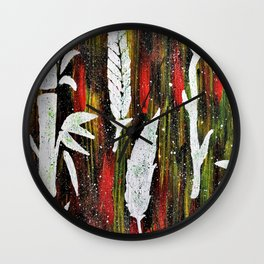 In My Garden Wall Clock