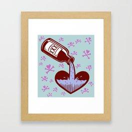 Drunkenheart Framed Art Print