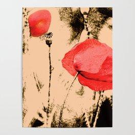 Art Poppy Poster