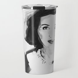 Unemployed Bette Davis Travel Mug