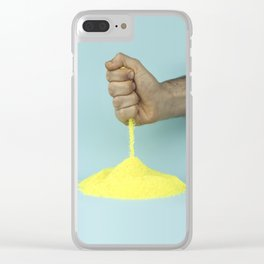 The weatherman Clear iPhone Case