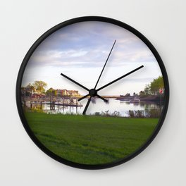 Kennebunk View Wall Clock