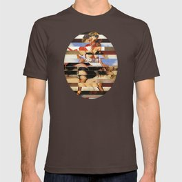 Glitch Pin-Up Redux: Daisy T-shirt
