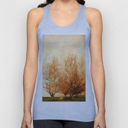 TREES AT SUNSET 2 Unisex Tank Top
