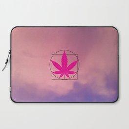 vitruvian marijuana Laptop Sleeve