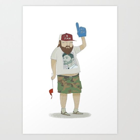 You're number 1! Art Print