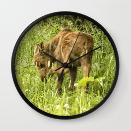 Itchy Nose or Smelly Feet? Wall Clock