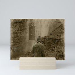 Longing for Holmes Mini Art Print