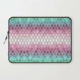 Pretty Mermaid Scales 20 Laptop Sleeve