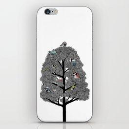Birds nest iPhone Skin