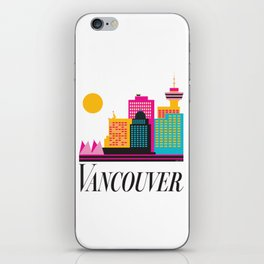 Vancouver Coal Harbour iPhone Skin