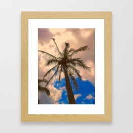 Palm Paradise Framed Art Print
