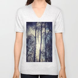 Your light will shine in the darkness Unisex V-Neck