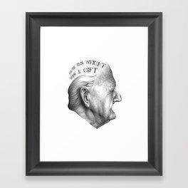 MY VIDA HA SIDO EXTRAORDINARIA SERIES 3# Framed Art Print