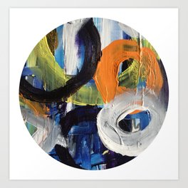 I Don't Care To Recall Abstract Art Print
