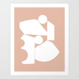 Shape study #16 - Inside Out Collection Art Print