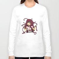 dangan ronpa Long Sleeve T-shirts featuring Dangan ronpa by reeree22