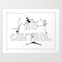 No control Art Print
