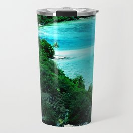 Tahiti Motu (Island) in French Polynesia Travel Mug