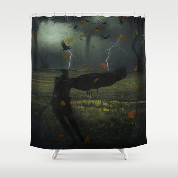Hero of the Storm by GEN Z Shower Curtain