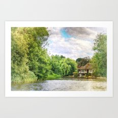 House By The River 2 Art Print