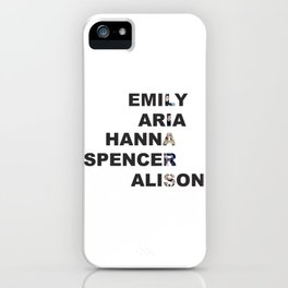 Pretty Little Liars - Girls Name Acrostic iPhone Case