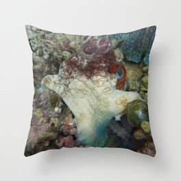 Henry the Octopus Throw Pillow