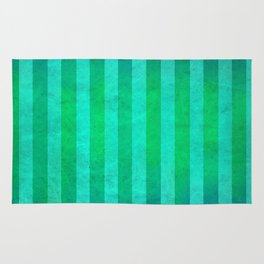 Stripes Collection: Mermaid Rug