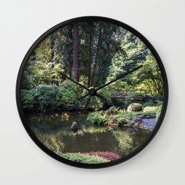 Portland Japanese Garden Wall Clock