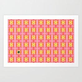 Poppy 24 Art Print