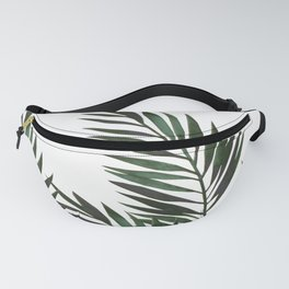 Palm Leaves Green Fanny Pack
